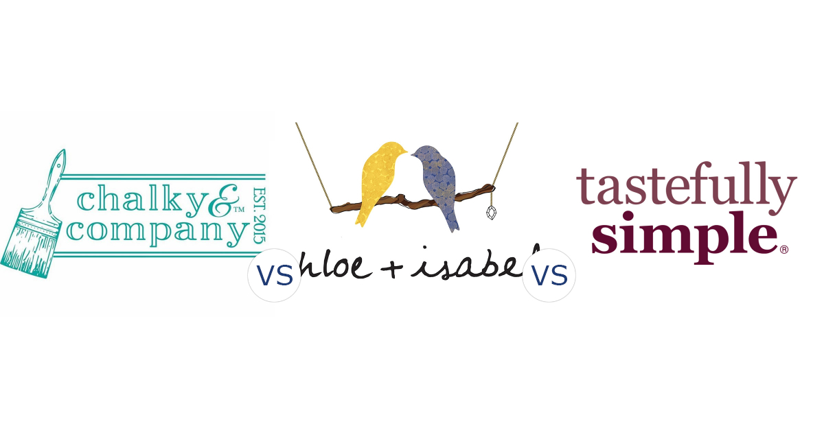 Chalky & Company vs. Chloe and Isabel vs. Tastefully Simple