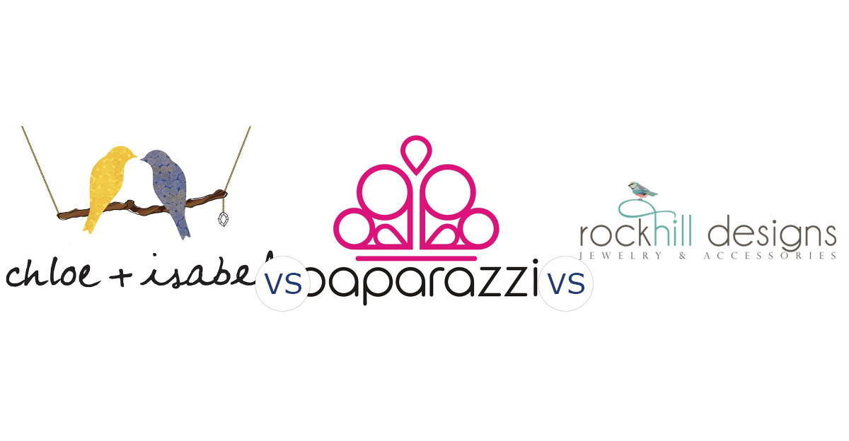 Chloe and Isabel vs. Paparazzi Accessories vs. Rockhill Designs