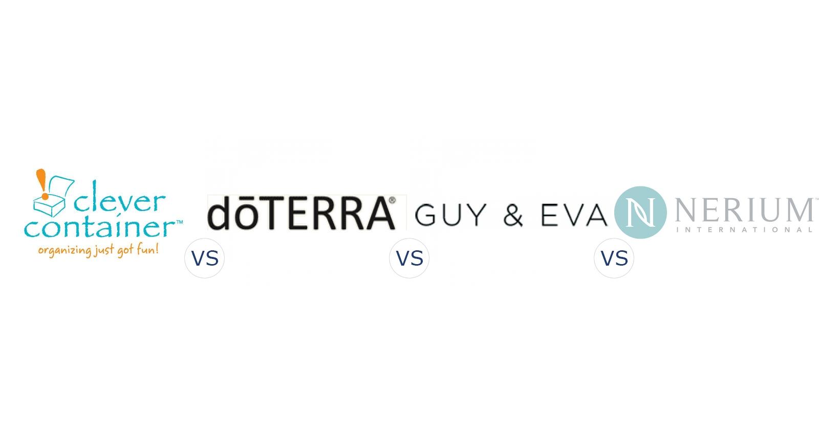 Clever Container vs. DoTerra vs. Guy & Eva vs. Nerium International