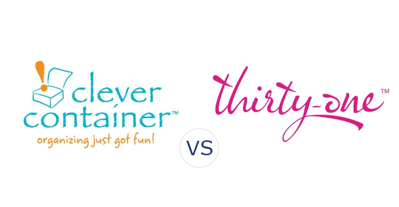 clever container vs. thirty one gifts | compare direct sales companies