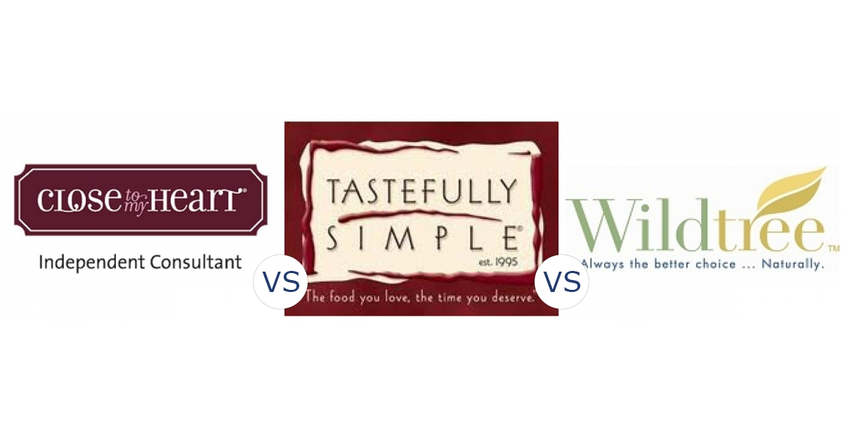 Close to My Heart vs. Tastefully Simple vs. Wildtree | Compare ...