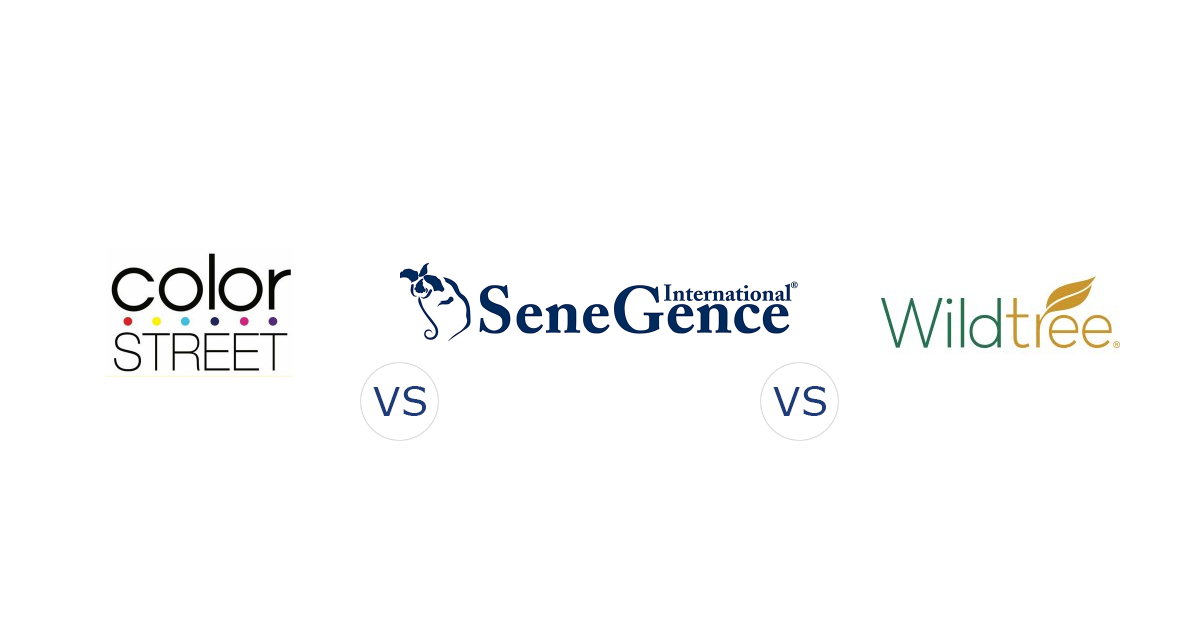 Color Street Vs Senegence Vs Wildtree Compare Direct Sales Companies