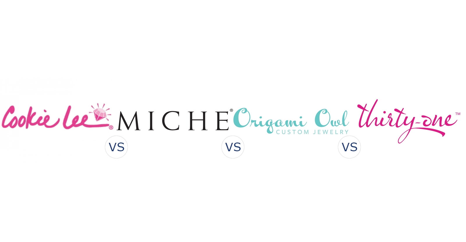 Cookie Lee vs. Miche Bags vs. Origami Owl vs. Thirty One Gifts