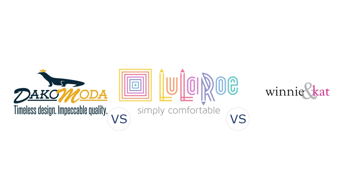 DakoModa vs. LuLaRoe vs. Winnie & Kat