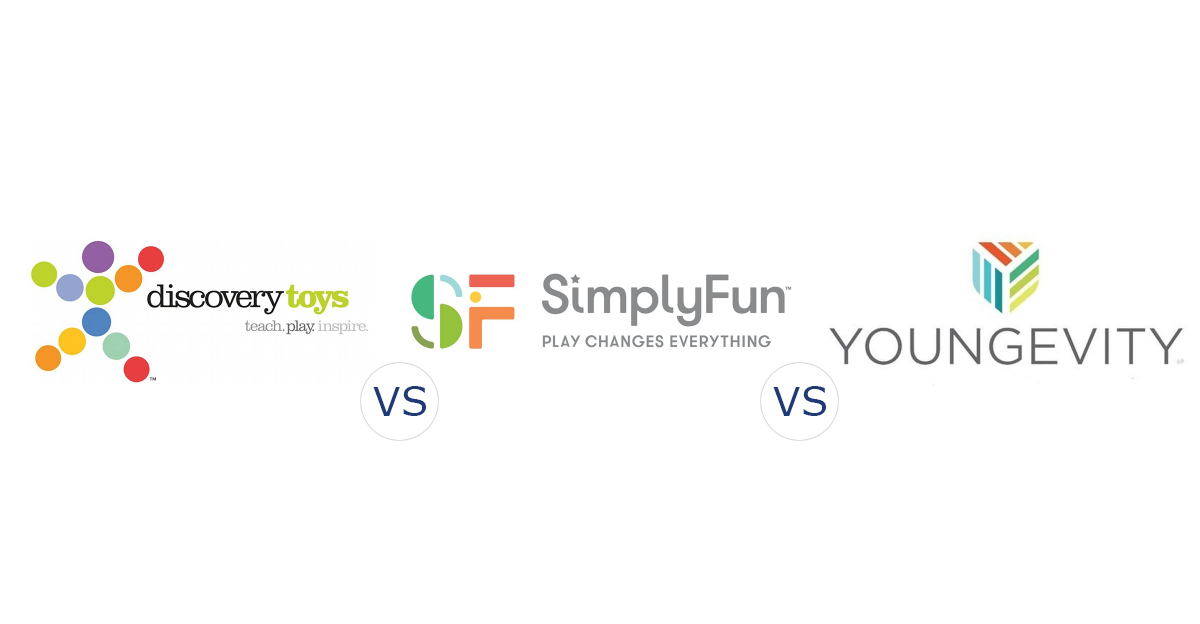 Discovery Toys vs. SimplyFun vs. Youngevity