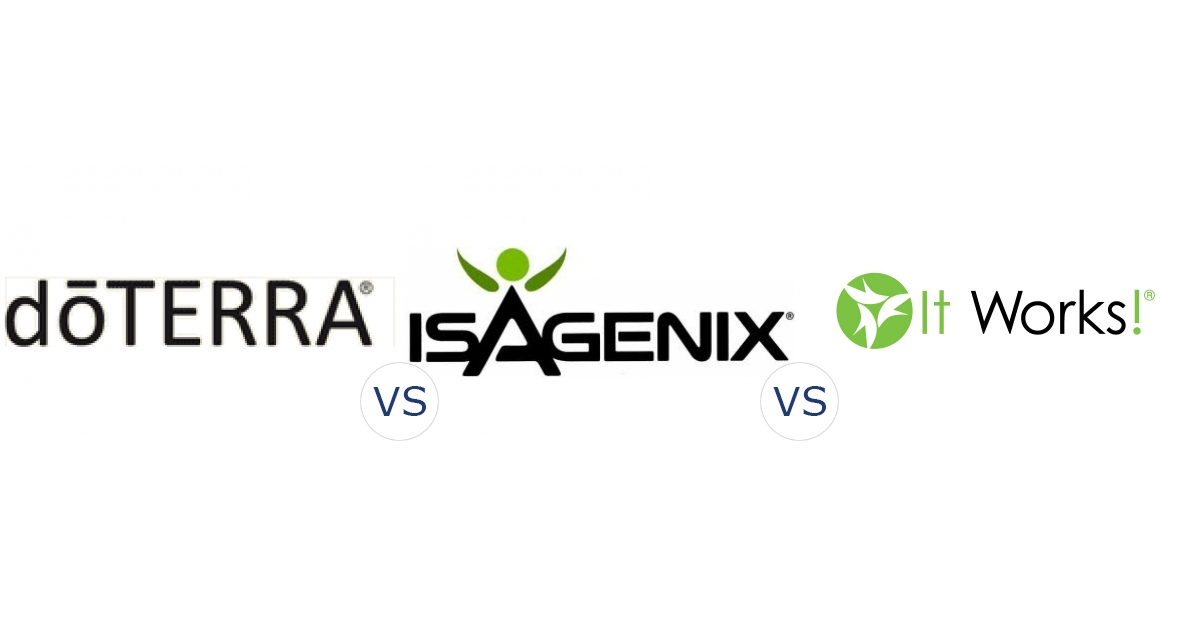 DoTerra vs. Isagenix vs. It Works! Global