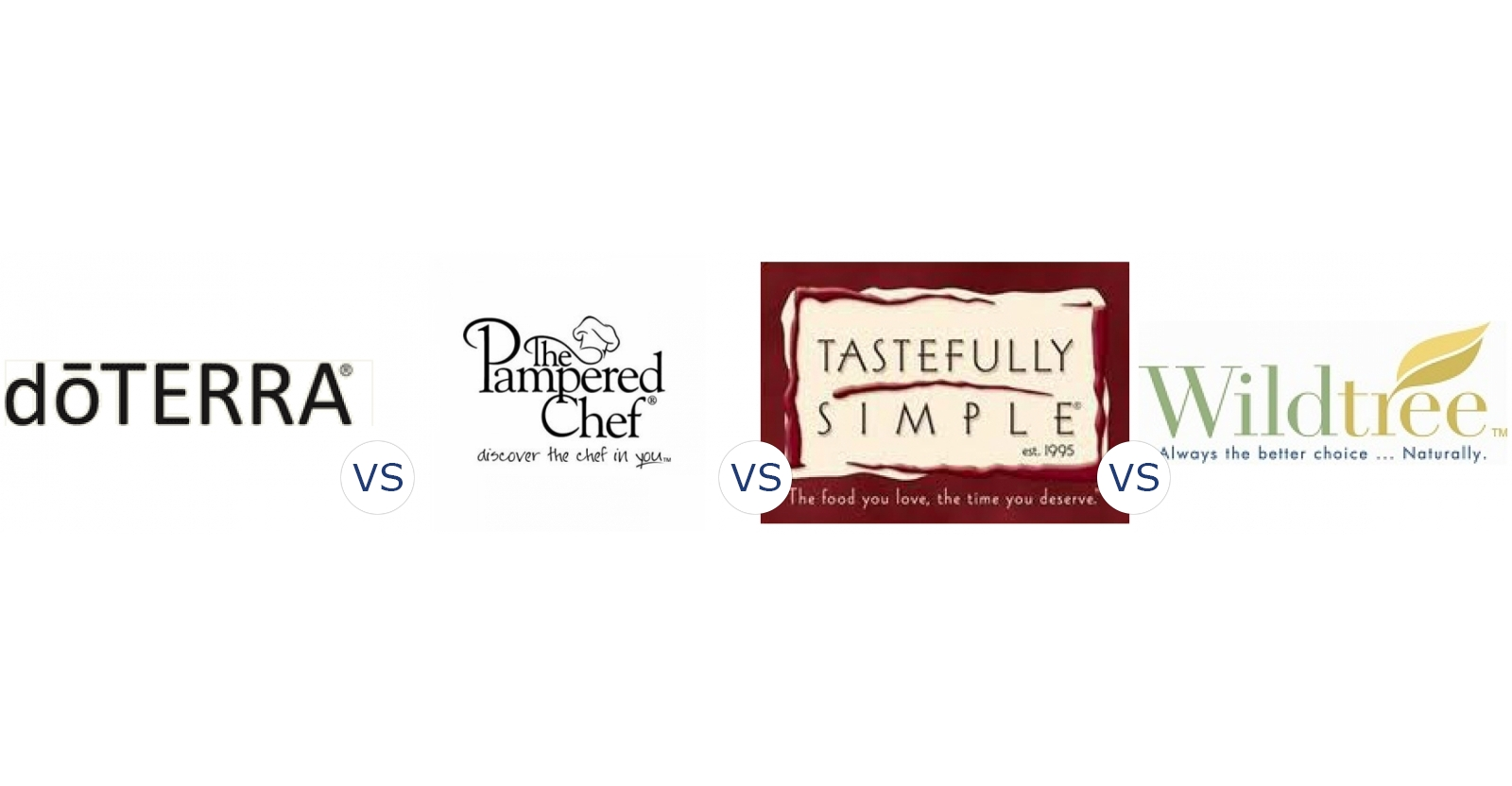 DoTerra vs. Pampered Chef vs. Tastefully Simple vs. Wildtree