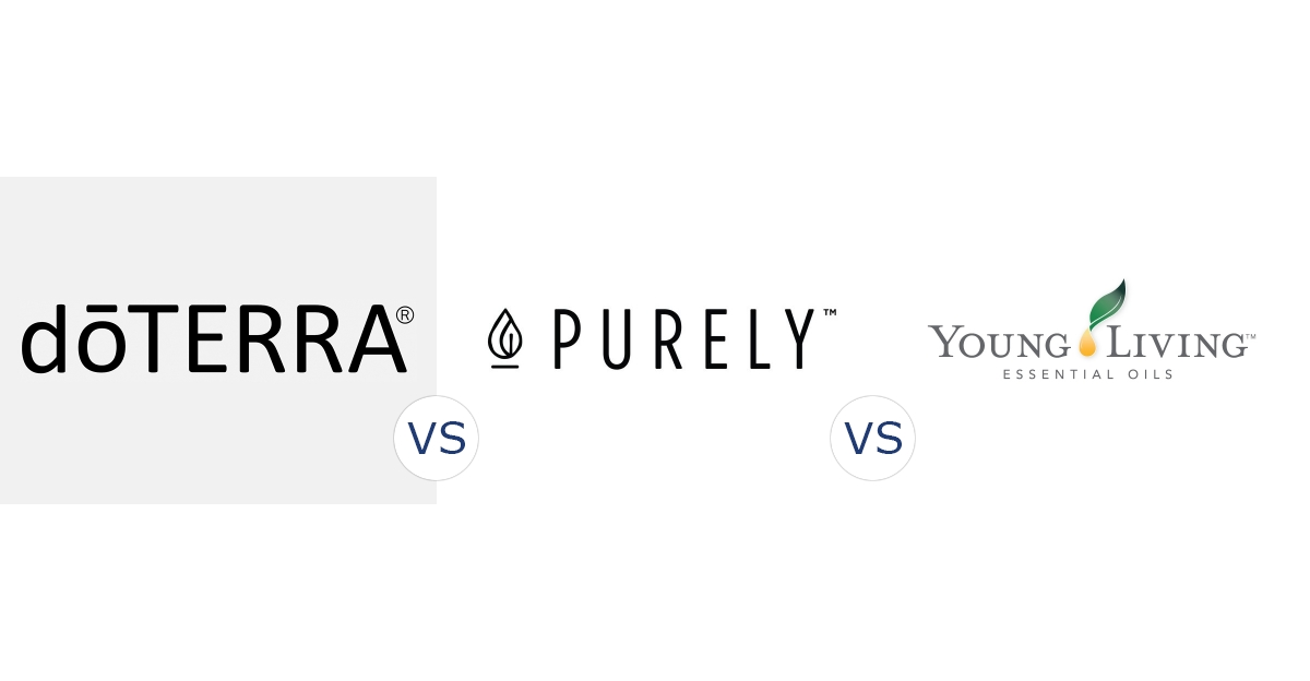 doTERRA vs. Purely vs. Young Living Essential Oils