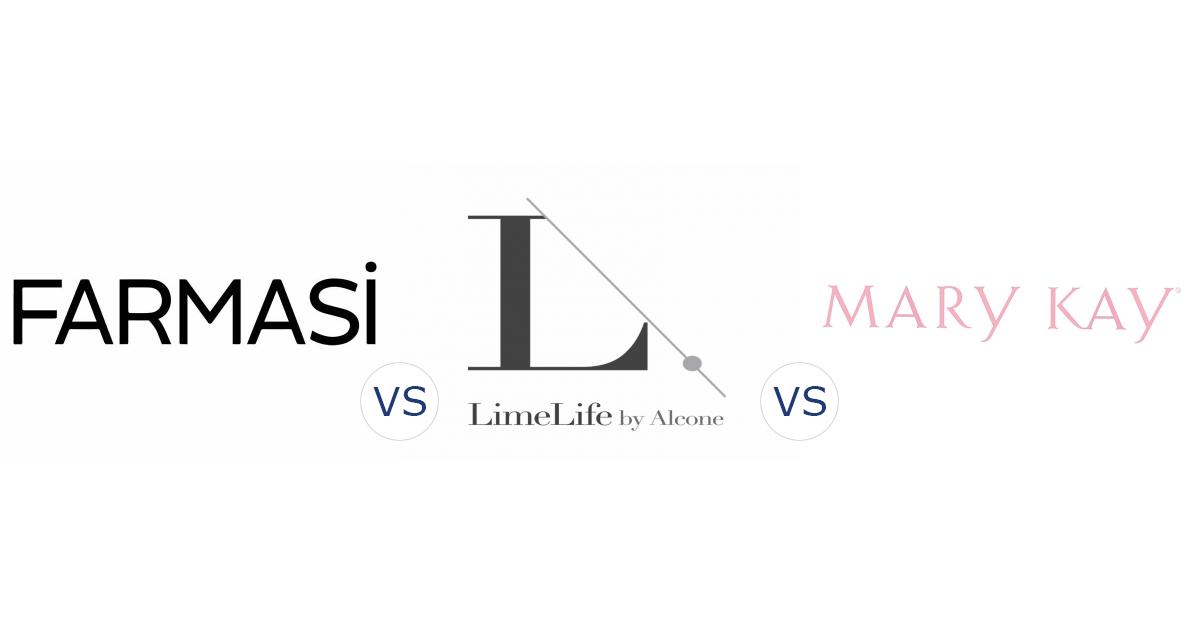 Farmasi vs. LimeLife by Alcone vs. Mary Kay