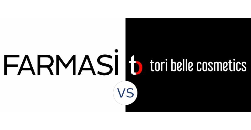 Farmasi vs. Tori Belle Cosmetics
