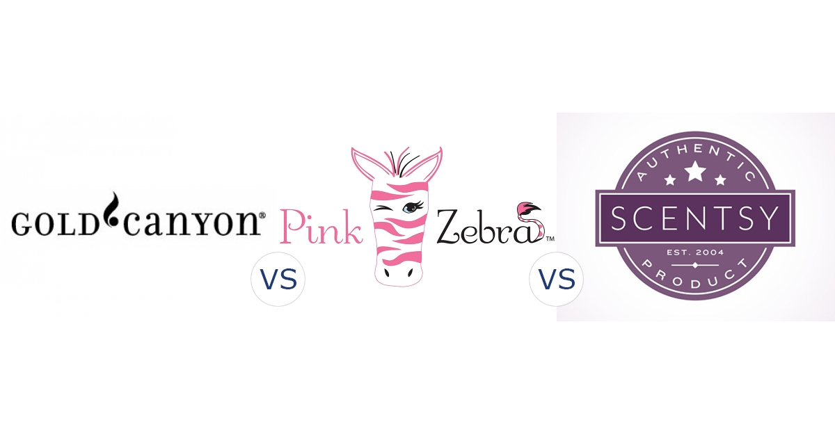 Gold Canyon vs. Pink Zebra vs. Scentsy