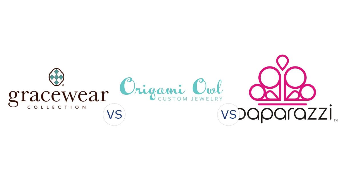Gracewear Collection vs. Origami Owl vs. Paparazzi Accessories