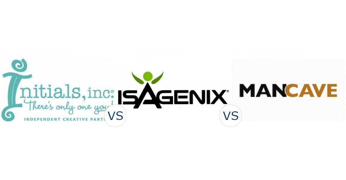 Initials Inc. vs. Isagenix vs. Man Cave Worldwide
