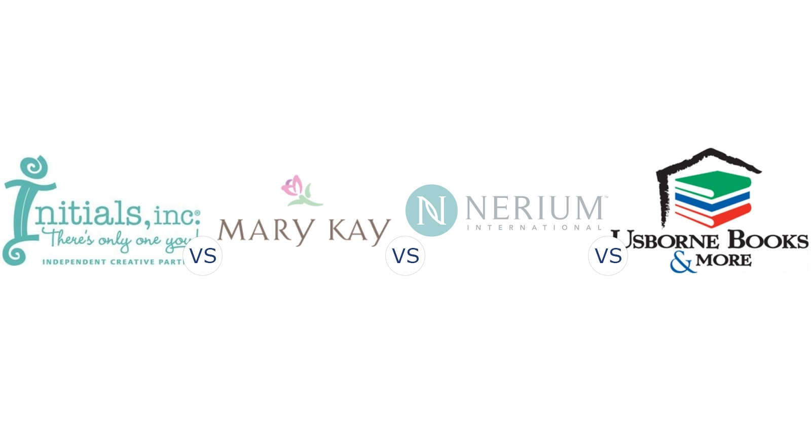 Initials Inc. vs. Mary Kay vs. Nerium International vs. Usborne Books