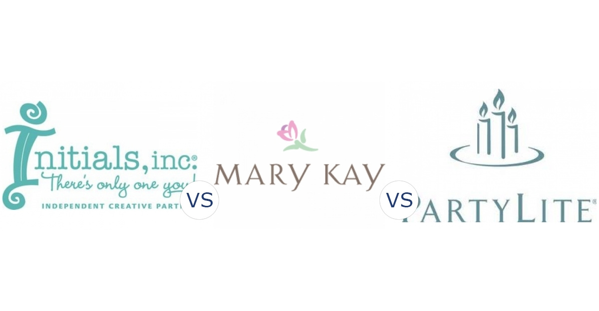 Initials Inc Vs Mary Kay Vs Partylite Compare Direct Sales