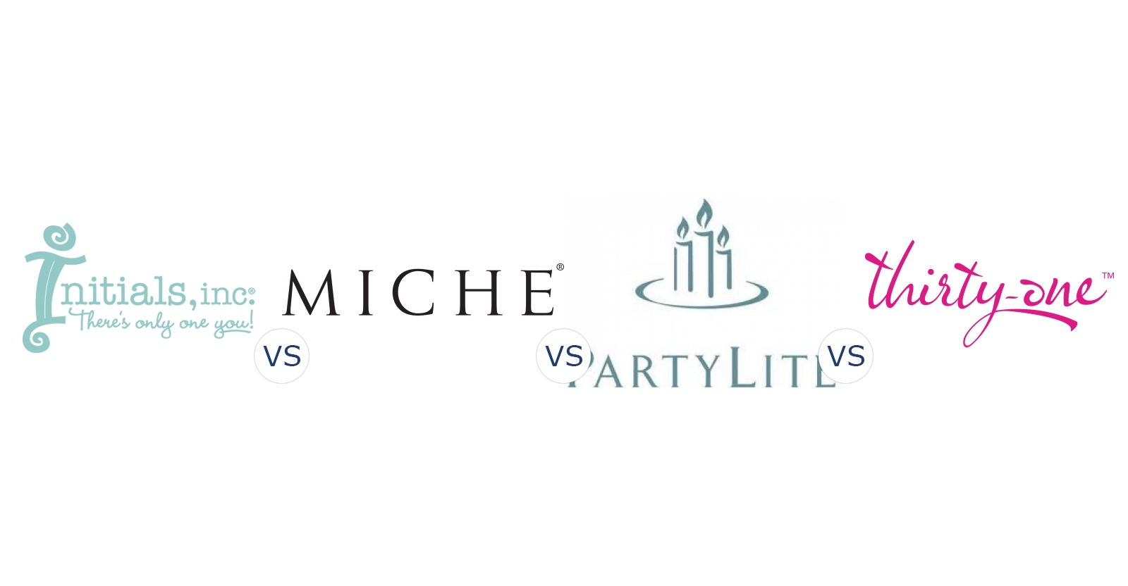 Initials Inc. vs. Miche Bags vs. PartyLite vs. Thirty One Gifts