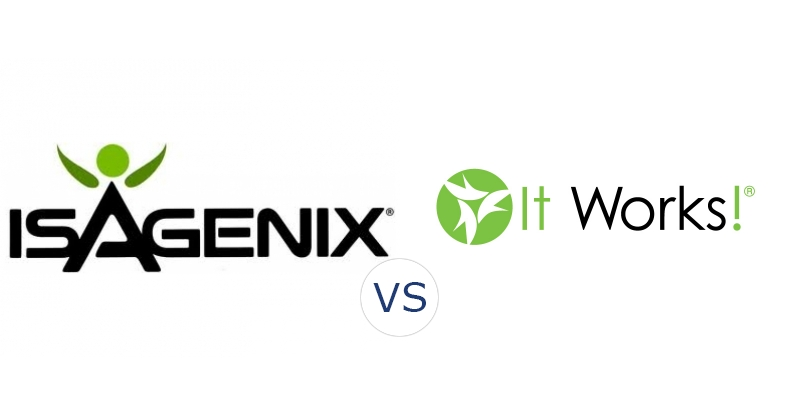 Isagenix vs. It Works! Global