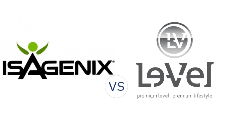 Isagenix vs. Le-Vel Thrive