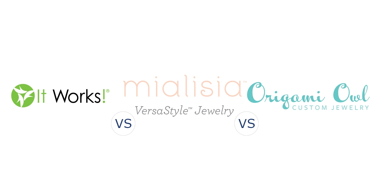 It Works! Global vs. Mialisia Jewelry vs. Origami Owl