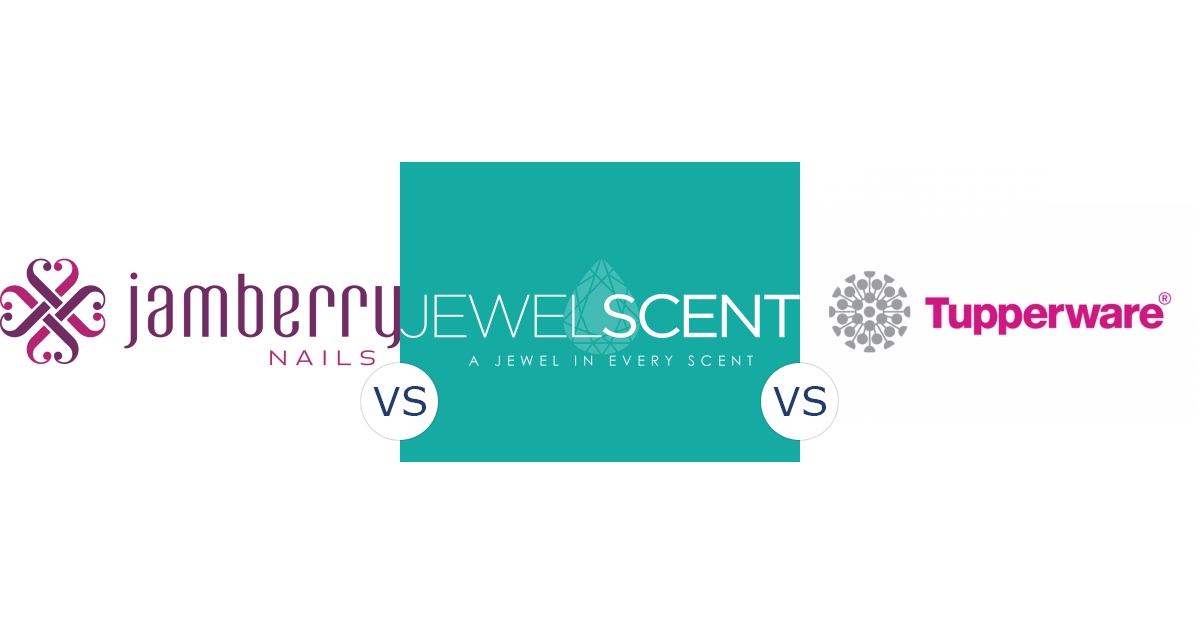 Jamberry Nails vs. JewelScent vs. Tupperware