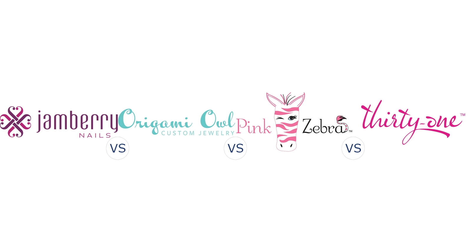 Jamberry Nails vs. Origami Owl vs. Pink Zebra vs. Thirty One Gifts