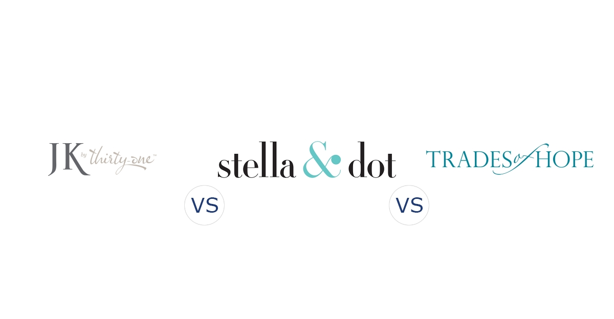 Jewel Kade vs. Stella & Dot vs. Trades of Hope