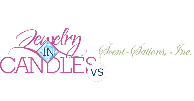 """Jewelry In Candles vs. Mia Bella Candles """"Scent-Sations"""""""