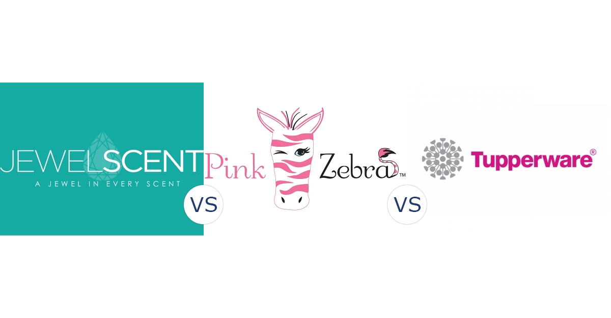 JewelScent vs. Pink Zebra vs. Tupperware