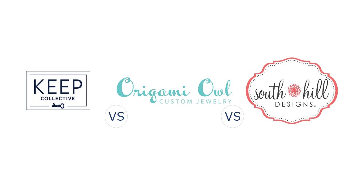 KEEP Collective vs. Origami Owl vs. South Hill Designs