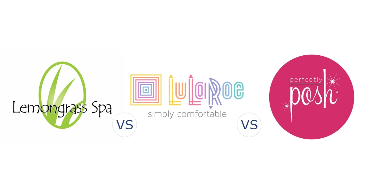 Lemongrass Spa vs. LuLaRoe vs. Perfectly Posh