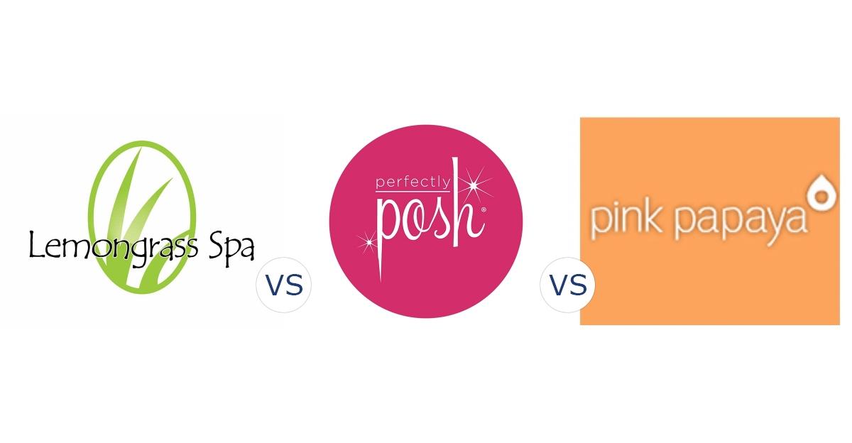 Lemongrass Spa vs. Perfectly Posh vs. Pink Papaya