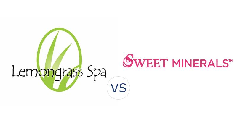 Lemongrass Spa vs. Sweet Minerals