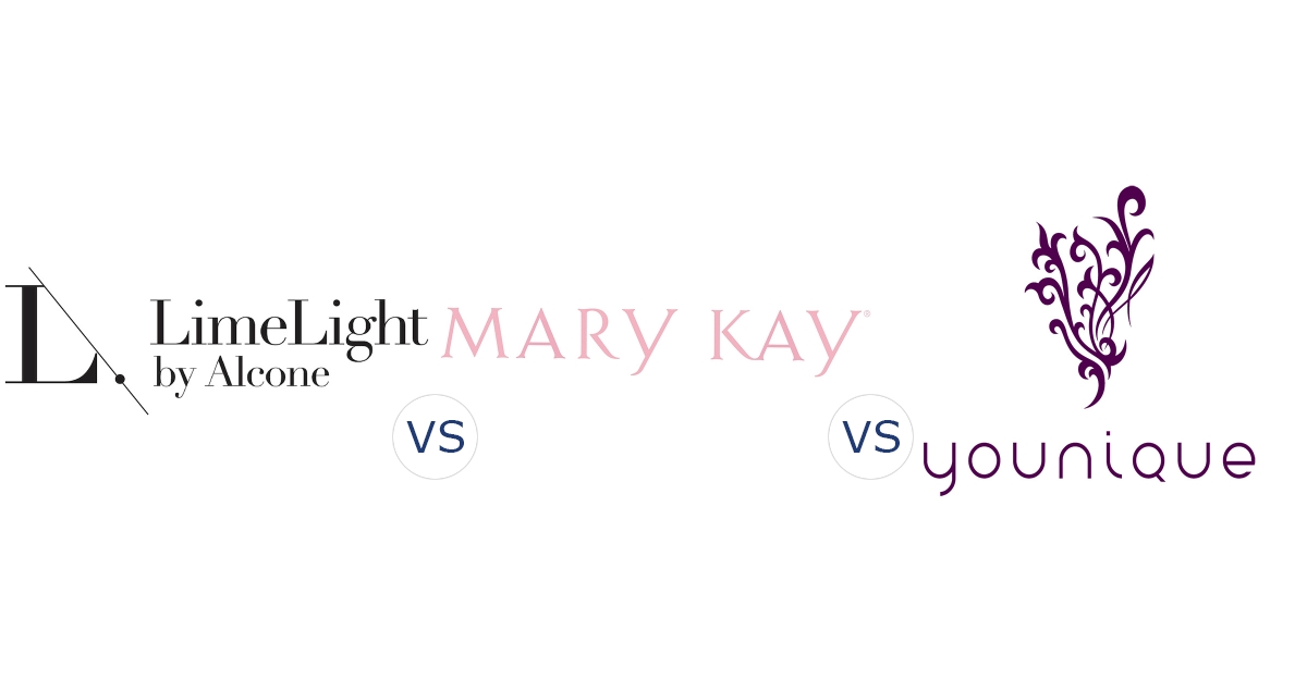 LimeLight by Alcone vs. Mary Kay vs. Younique