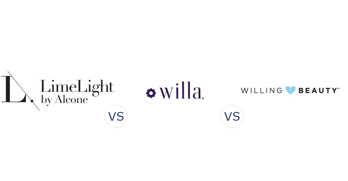 LimeLight by Alcone vs. Willa vs. Willing Beauty