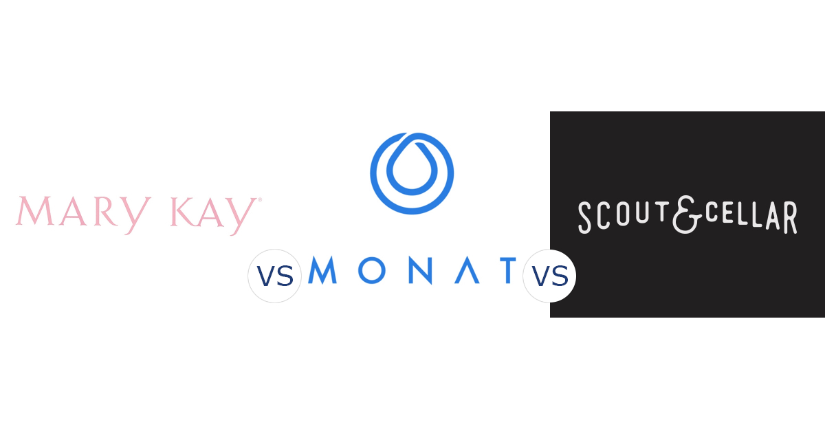 Mary Kay vs. Monat vs. Scout & Cellar Wines