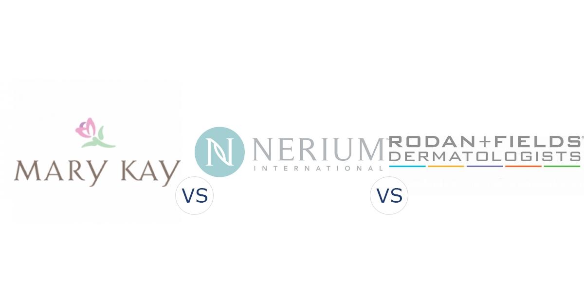 Mary Kay vs. Nerium International vs. Rodan and Fields