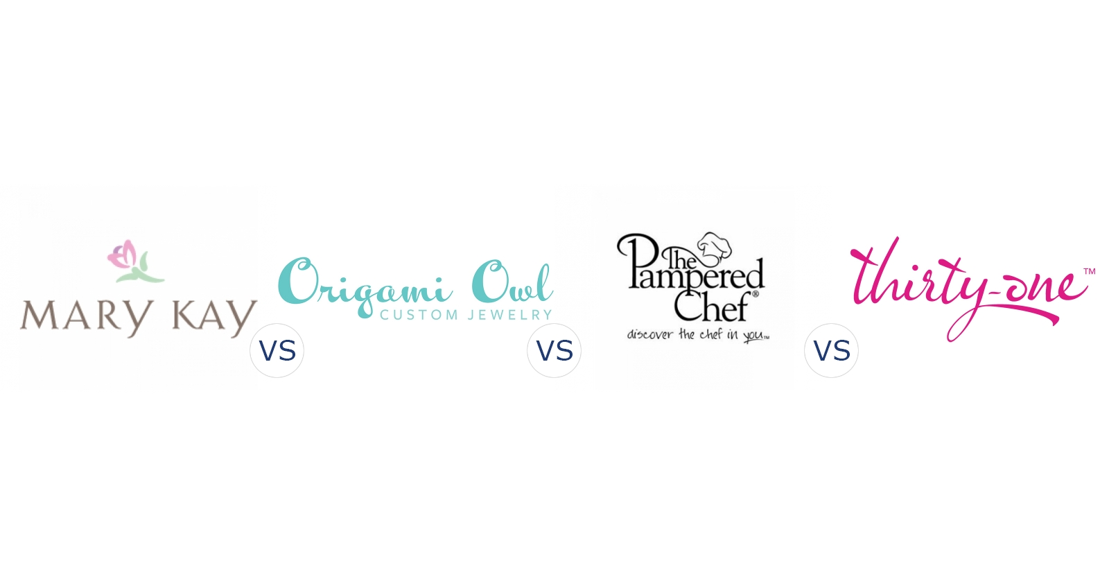 Mary Kay Vs Origami Owl Vs Pampered Chef Vs Thirty One Gifts
