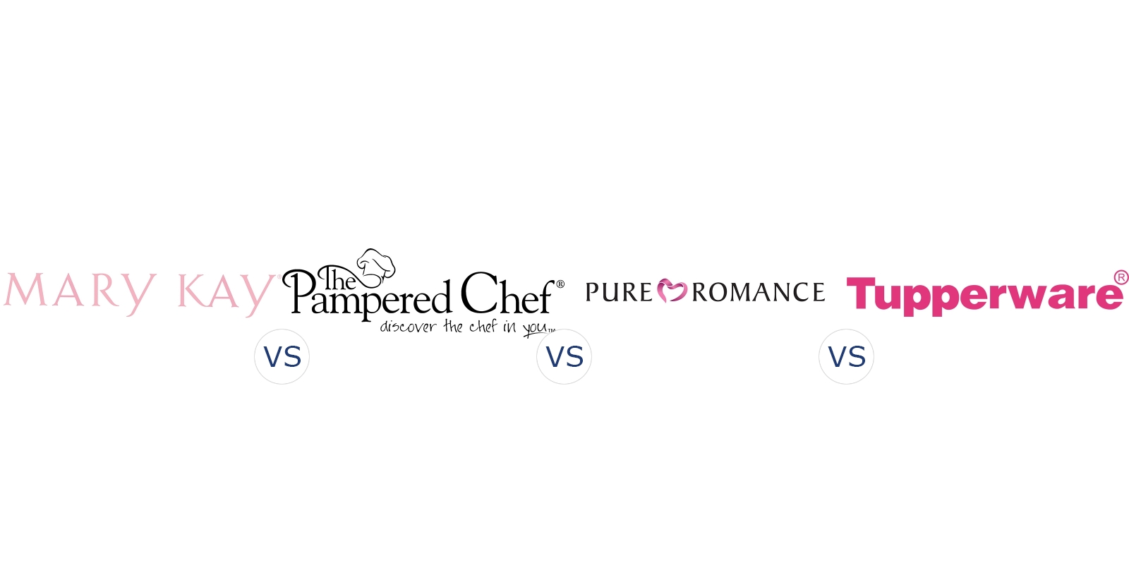 Mary Kay Vs Pampered Chef Vs Pure Romance Vs Tupperware Compare