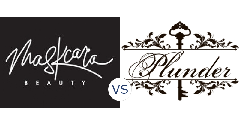 Maskcara Beauty vs. Plunder Design
