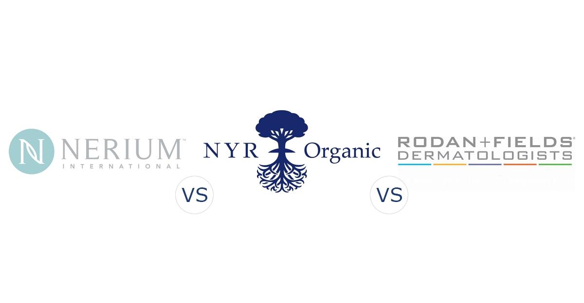 Nerium International vs. NYR Organic vs. Rodan and Fields