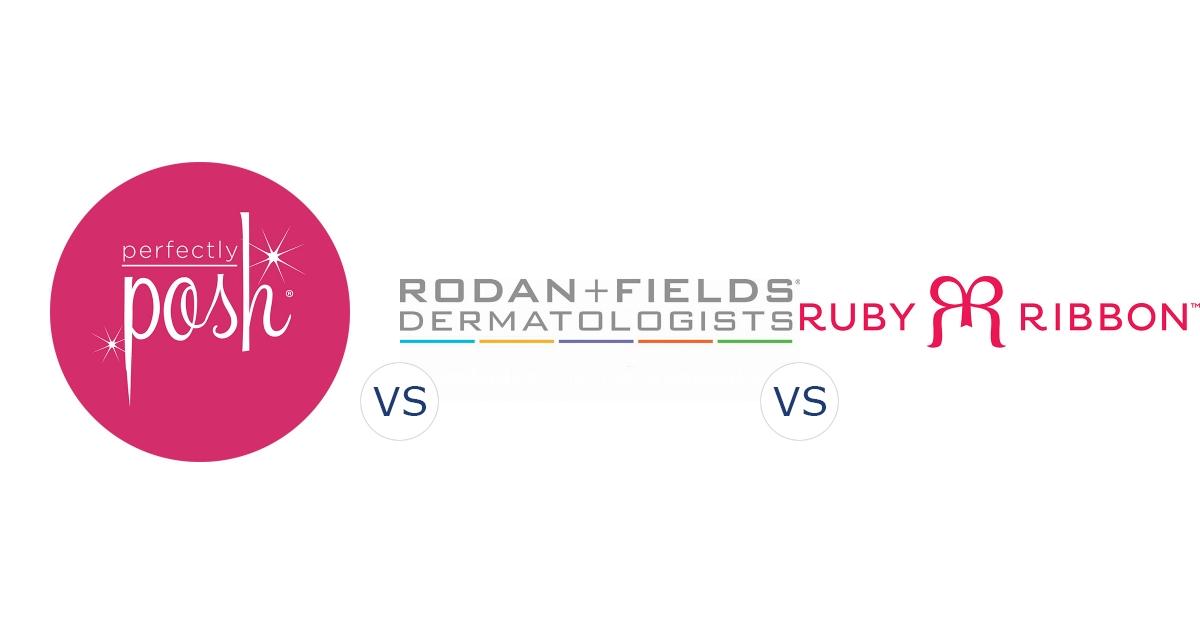 Perfectly Posh vs. Rodan and Fields vs. Ruby Ribbon