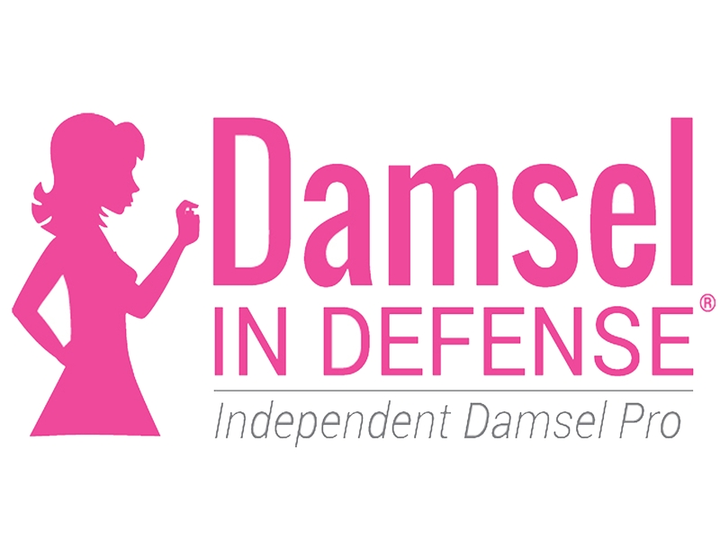 Damsel in defense non lethal self defense weapons for Damsel in defense business cards