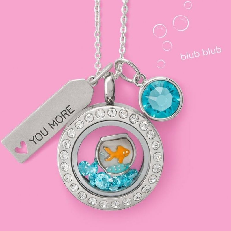Origami Owl Living Locket Necklace: Personalized Keepsake {Review ... | 800x800
