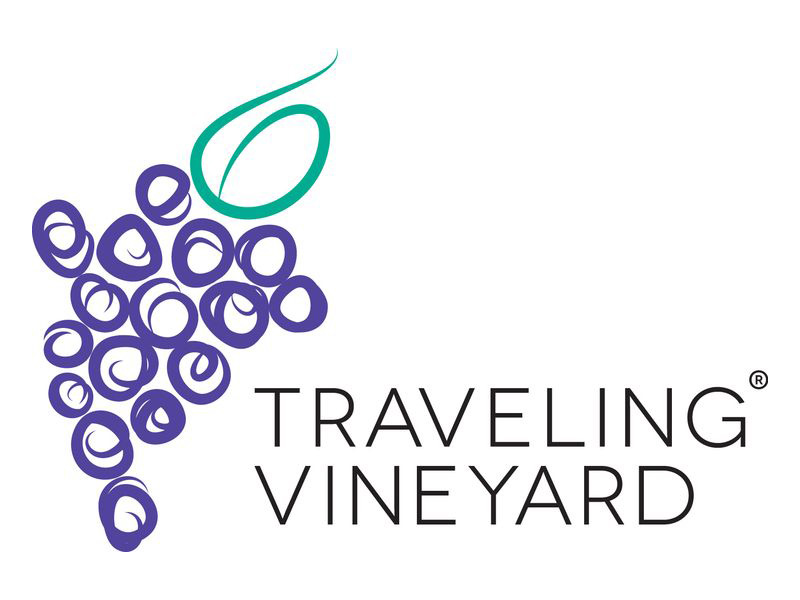 Image result for traveling vineyard logo