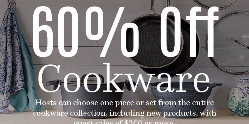 Cookware for Hosts in May