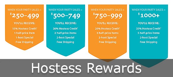 Steeped Tea Hostess Rewards