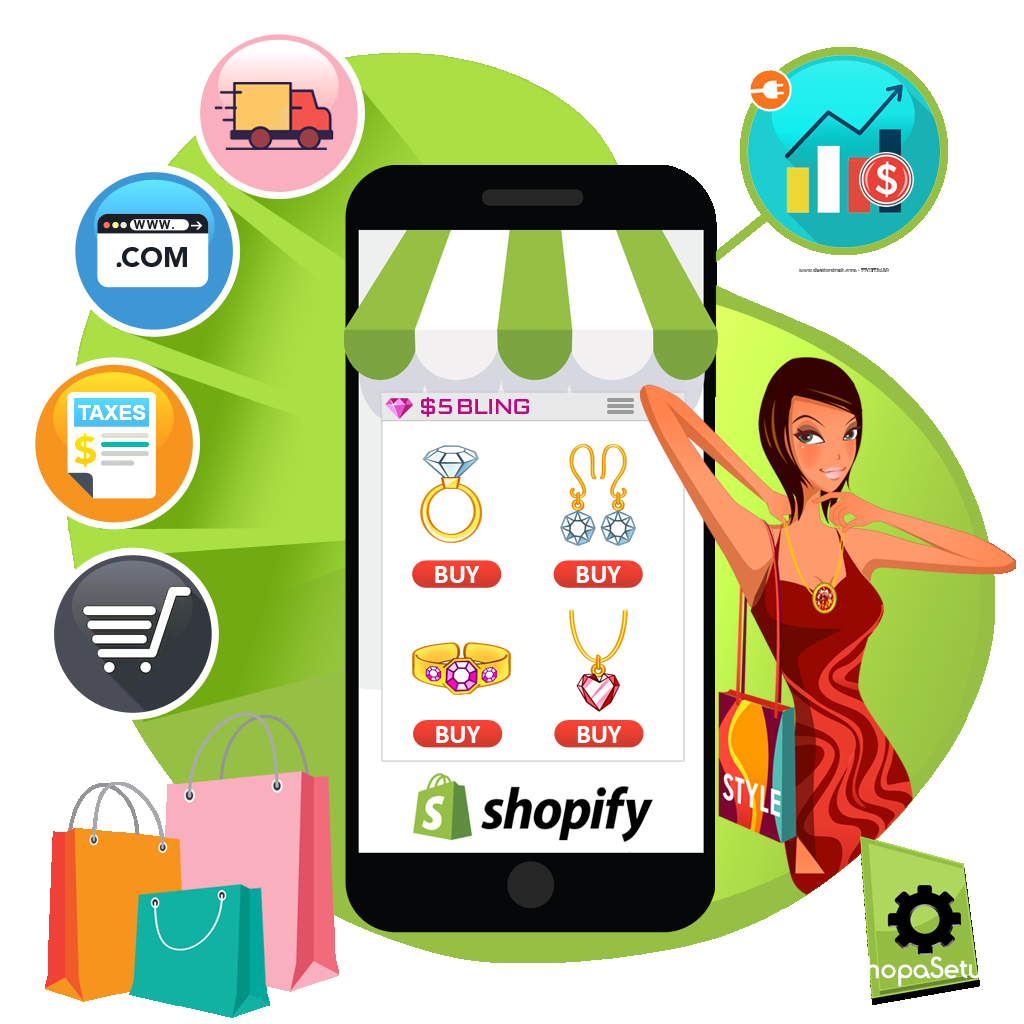 Shopify Setup for Paparazzi Jewelry Consultant Stores