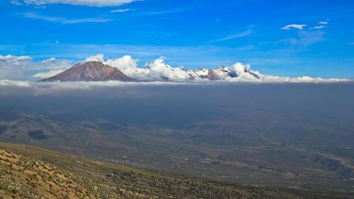 Subida Vulcão Chachani