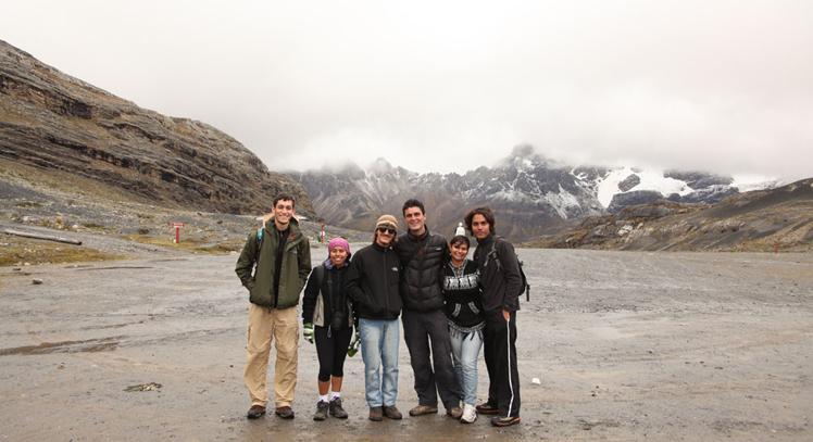 Base del Nevado Pastoruri