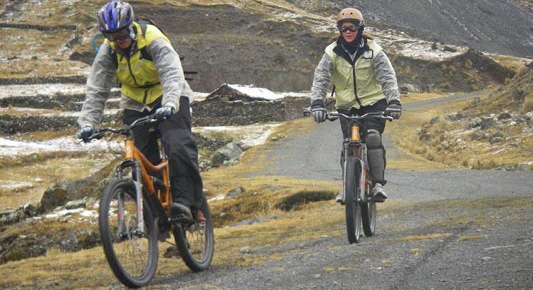 Death Road Biking